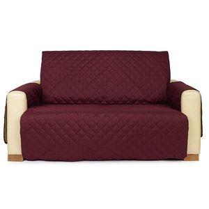 4Home Narzuta na kanapę 2-osobową Doubleface bordo/beżowa, 140 x 220 cm, 140 x 220 cm obraz