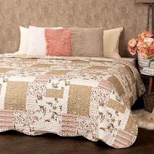 4Home Narzuta na łóżko Patchwork, 140 x 220 cm obraz