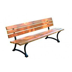 Drewniana ławka ogrodowa FSC obraz