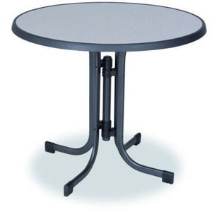 Stół metalowy PIZZARA ø 85 cm obraz