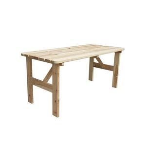 Ławka ogrodowa drewniana VIKING - 150 cm obraz