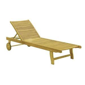 Drewniany leżak ogrodowy SANDRA obraz
