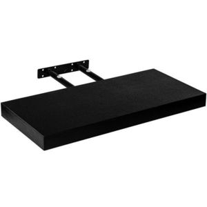 Półka ścienna czarny, 80 cm obraz