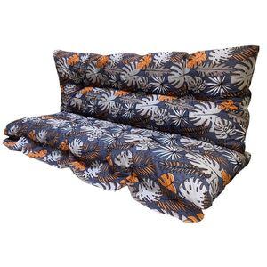 Vetro-Plus Poduszki na huśtawkę Kwiaty, 130 cm obraz