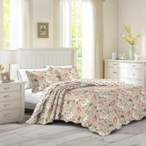 Narzuta na łóżko Eva, 140 x 200 cm, 1 szt. 50 x 70 cm, 140 x 200 cm obraz
