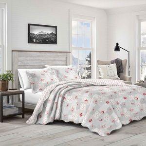 Narzuta na łóżko Patchwork Idea, 230 x 250 cm, 2 szt. 50 x 70 cm, 230 x 250 cm obraz