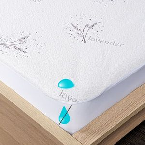 4Home Lavender Wodoodporny ochraniacz na materac z lamówką, 200 x 200 cm + 30 cm, 200 x 200 cm obraz