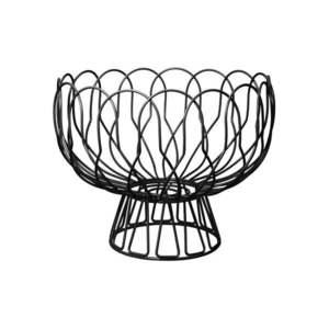 Czarny koszyk na owoce PT LIVING Wired obraz