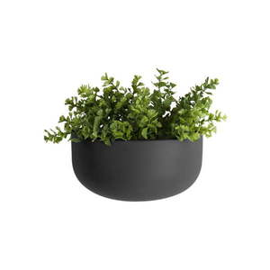 Matowa czarna ceramiczna doniczka ścienna PT LIVING Nest obraz
