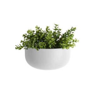 Matowa biała ceramiczna doniczka ścienna PT LIVING Nest obraz
