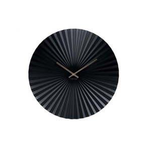 Czarny zegar Karlsson Sensu, ⌀ 40 cm obraz