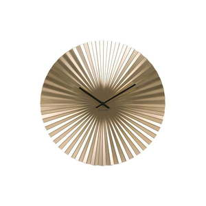 Zegar w kolorze złota Karlsson Sensu, ⌀ 40 cm obraz