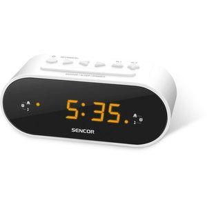 Sencor SRC 1100 W Radiobudzik, biały obraz