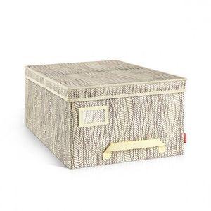 Tescoma Pudełko na odzież FANCY HOME, 40 x 52 x 25 cm, naturalny obraz