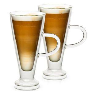 4home Szklanka termiczna Latte Elegante Hot&Cool, 230 ml, 2 szt. obraz