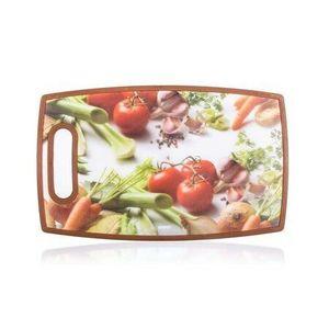 Banquet Plastikowa deska do krojenia Vegetables 36x22 cm obraz