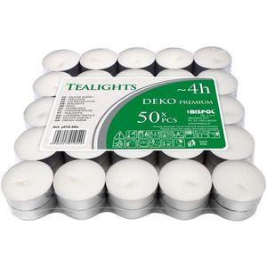 Zestaw świeczek tealight Deko premium, 50 szt. obraz