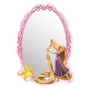 Lustro samoprzylepne dla dzieci Rapunzel Księżniczka Roszpunka, 15 x 21, 5 cm obraz
