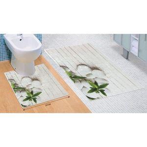 Komplet dywaników łazienkowych Adriatyk 3D, 60 x 100 cm, 50 x 60 cm obraz