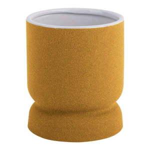 Żółty wazon ceramiczny PT LIVING Cast, wys. 17 cm obraz