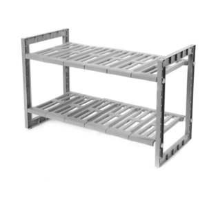 Półki do szafki pod zlewem z regulowaną szerokością Compactor Expandable Shelf obraz