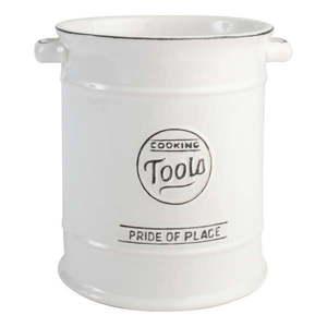 Biały pojemnik ceramiczny na przybory kuchenne T&G Woodware Pride of Place obraz