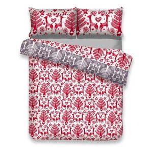 Świąteczne tekstylia do sypialni obraz