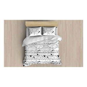 Pościel z prześcieradłem i 2 poszewkami na poduszki Tura, 200x220 cm obraz
