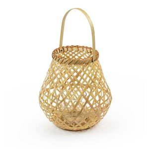 Lampion bambusowy Compactor Bamboo Lantern, ⌀ 25 cm obraz