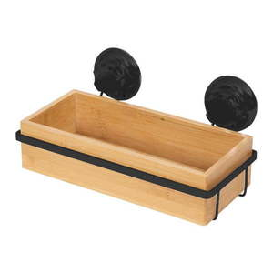 Bambusowa samoprzyczepna półka łazienkowa Compactor Bestlock SPA obraz