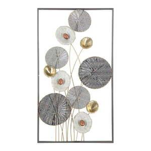 Metalowa dekoracja ścienna Mauro Ferretti Grid, 50x90, 5 cm obraz