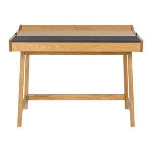 Biurko z drewna dębowego Woodman Brompton obraz