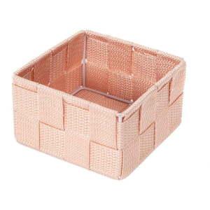 Różowy organizer łazienkowy Compactor Stan, 12x12cm obraz
