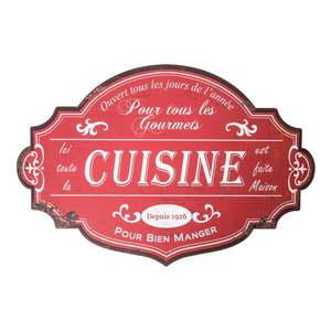 Tabliczka ścienna Antic Line Cuisine Pour obraz