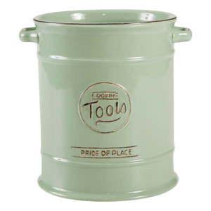 Zielony pojemnik ceramiczny na przybory kuchenne T&G Woodware Pride Of Place obraz