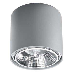 Szara lampa sufitowa Nice Lamps Luigi obraz
