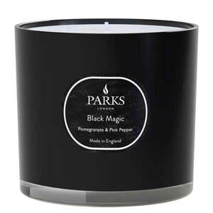 Świeczka o zapachu granatu i peruwiańskiego pieprzu Parks Candles London Black Magic, 56 h obraz