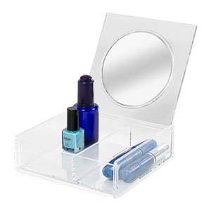 Organizer na kosmetyki z lusterkiem Compactor Nice obraz