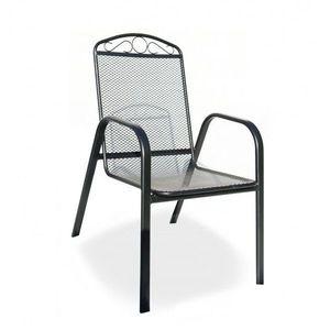Krzesła metalowe obraz