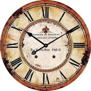 Lowell 14862 Stylowy zegar ścienny śr. 34 cm obraz