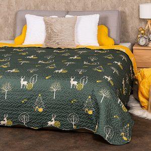4Home Narzuta na łóżko Forest Dream, 220 x 240 cm obraz