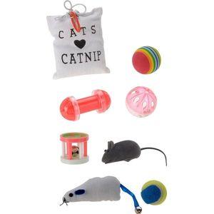Zestaw zabawek dla kotów Cats catnip, 8 szt. obraz