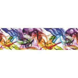Bordiura samoprzylepna Kolorowy dym, 500 x 14 cm obraz