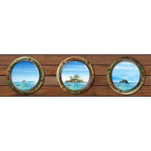 Bordiura samoprzylepna Wyspa, 500 x 14 cm obraz