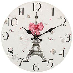 Dakls Zegar ścienny Paris, śr. 34 cm obraz