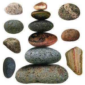 Naklejka Stones, 30 x 30 cm obraz