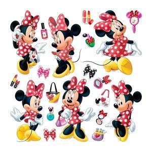 Naklejka Minnie Mouse, 30 x 30 cm obraz