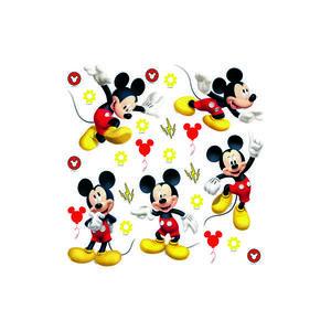 Naklejka Mickey Mouse, 30 x 30 cm obraz