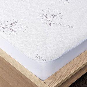 4Home Lavender Ochraniacz na materac z lamówką, 60 x 120 cm + 15 cm, 60 x 120 cm obraz