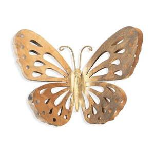 Dekoracja ścienna w kolorze złota Tanelorn Butterfly obraz